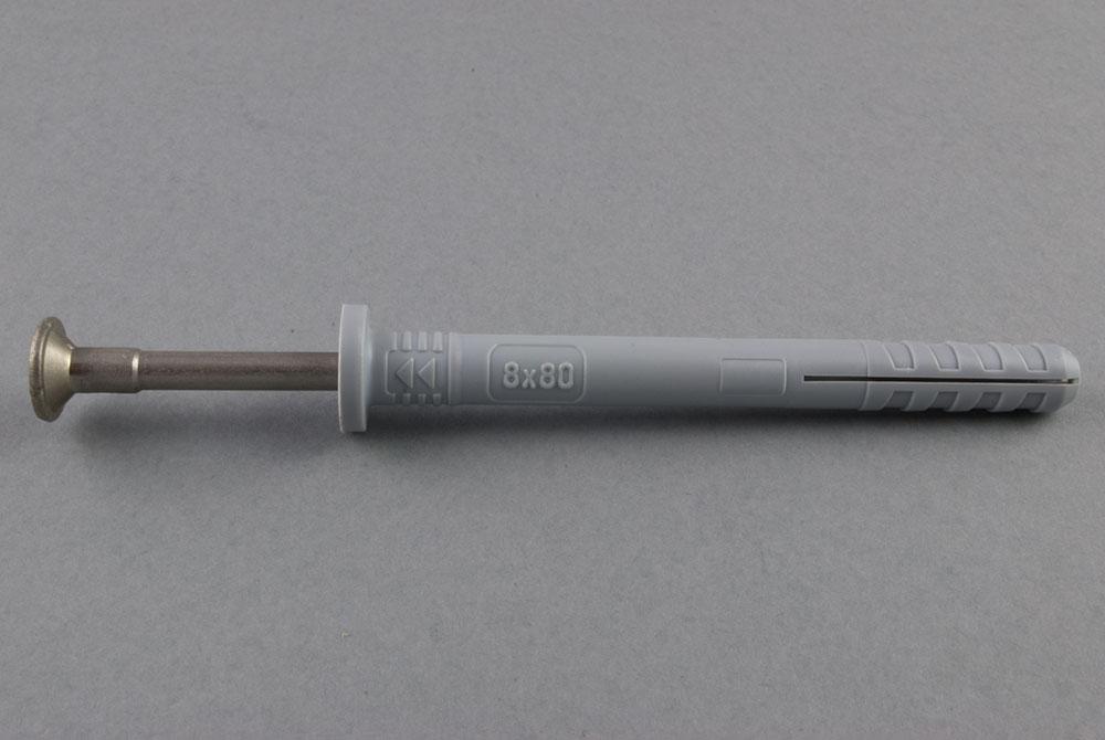 Kołki rozporowe wbijane z kołnierzem cylindrycznym TNSM-RE