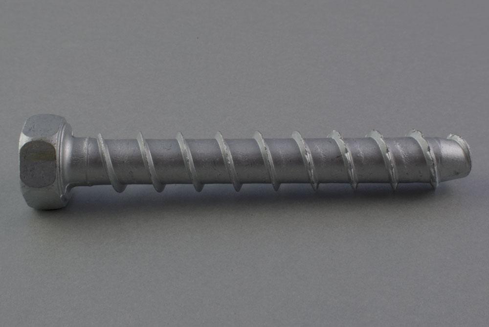 Śruby stalowe do betonu z łbem sześciokątnym SCB
