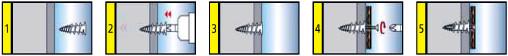 Schemat Montażu Kołków do Płyt Gipsowo-Kartonowych